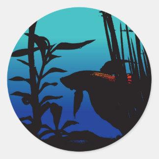 Betta Believe It Classic Round Sticker