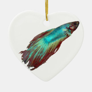 Betta Ceramic Ornament