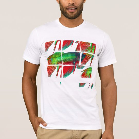 Betta Close_Ups Grid - T-Shirt