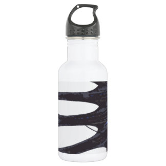 Betta crowntail stainless steel water bottle