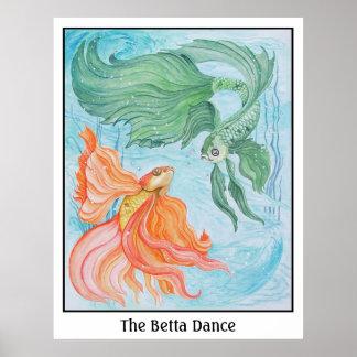 Betta Dance Poster