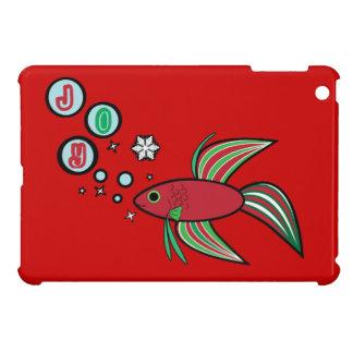 Betta Fish at Christmas iPad Mini Covers