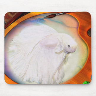 Betta fish mouse pad