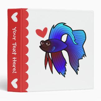 Betta Fish / Siamese Fighting Fish Love Binder