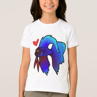 Betta Fish / Siamese Fighting Fish Love T-Shirt