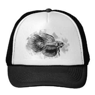 Betta Fish Trucker Cap Trucker Hat