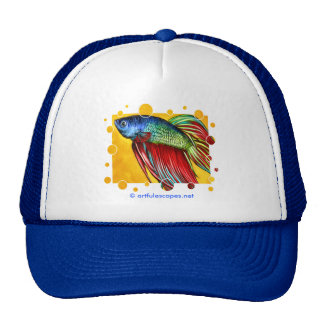 Betta Fish Trucker Hat