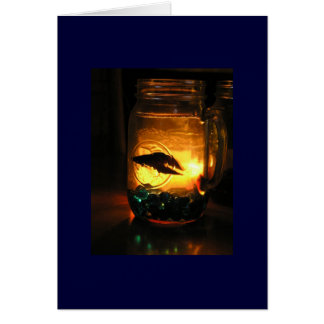 Betta in a Jar Card