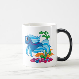 Betta lindo taza mágica