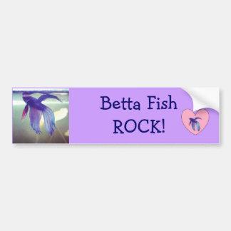 Betta Lover Bumper Sticker Car Bumper Sticker