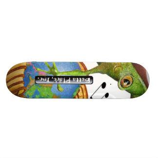 Betta Place logo, FreddyFrog, BPI TWINTower Skateboard Deck