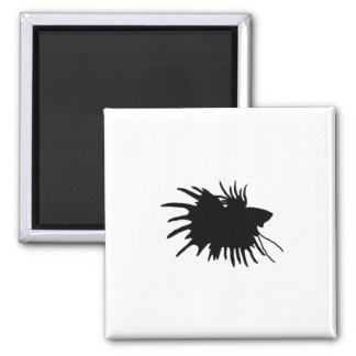 Betta Silhouette Love Siamese Fighting Fish Magnet