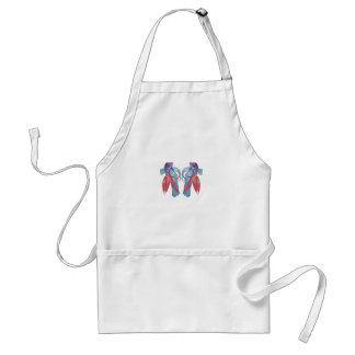 Betta Splendens Adult Apron