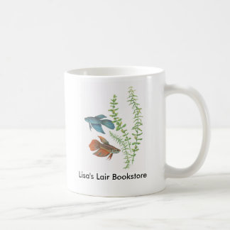 Betta splendens and Rotala indica White Promo Coffee Mug
