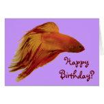 Betta - tarjeta de cumpleaños
