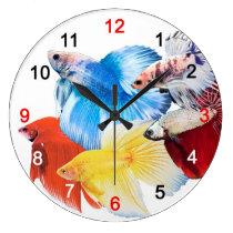 Bettas Large Clock