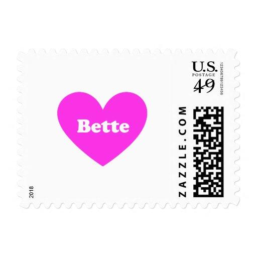Bette Postage