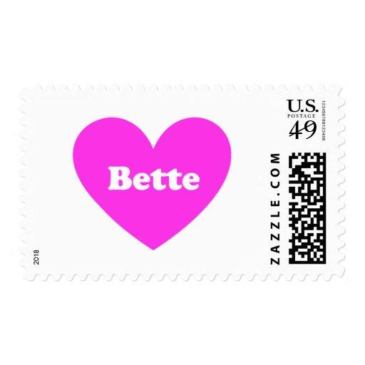 Bette Postage Stamp