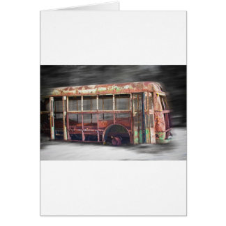 Better Days School Bus in Motion Card