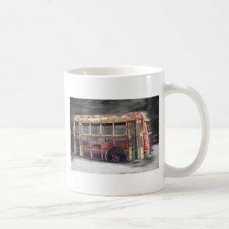 Better Days School Bus in Motion Coffee Mug
