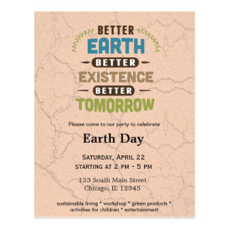 Better Earth Flyer