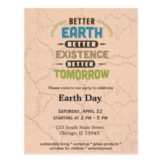Better Earth Flyer Design