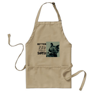 Better Fed than Shred! Apron