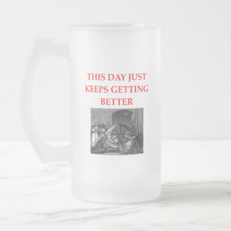 BETTER FROSTED GLASS BEER MUG