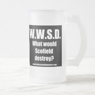 Better Geek Than Never - WWSD mug