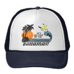 Better in Bahamas Faded Mesh Hat
