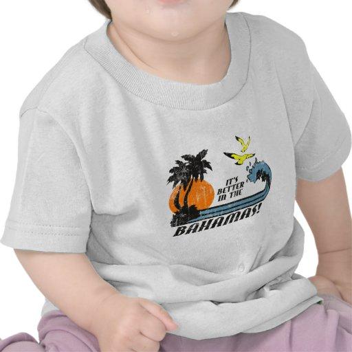 Better in Bahamas Faded Tshirt