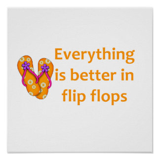 Better in Flip Flops Poster