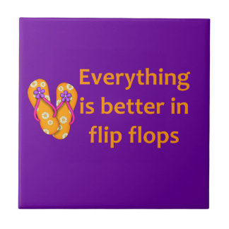 Better in Flip Flops Tiles