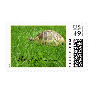 Better late than never! postage stamps