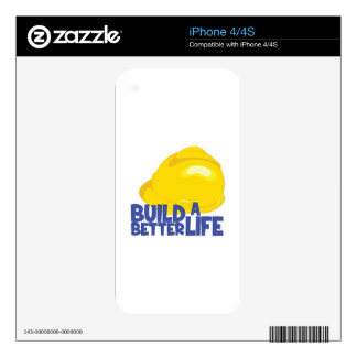 Better Life iPhone 4 Decals