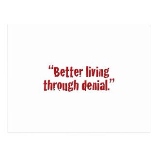 Better living... postcard