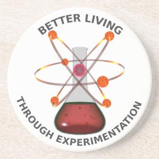 Better Living Through Experimentation Drink Coaster