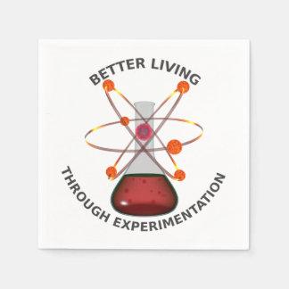 Better Living Through Experimentation Paper Napkins