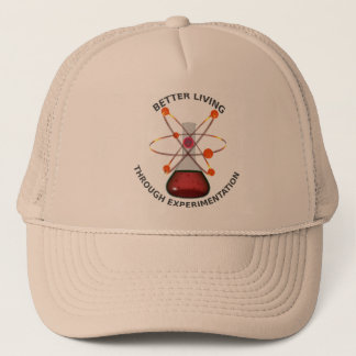 Better Living Through Experimentation Trucker Hat