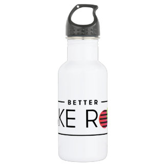 Better Make Room Wordmark Water Bottle