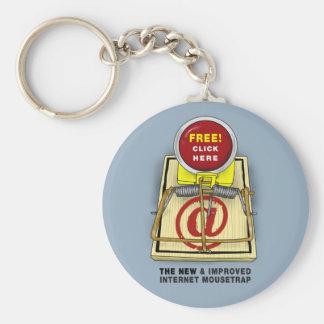Better Mousetrap Classic Button Keychain