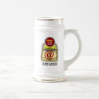 Better Mousetrap Stein 18 Oz Beer Stein