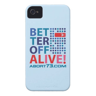 Better Off Alive! / Abort73.com iPhone 4 Case-Mate Cases