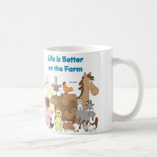 Better on the Farm Classic White Coffee Mug