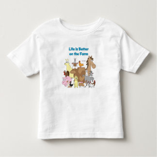 Better on the Farm - Toddler Shirt
