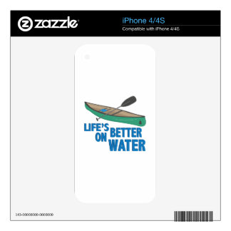 Better On Water iPhone 4 Skin