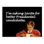 Better Presidential Candidates Joke Post Card