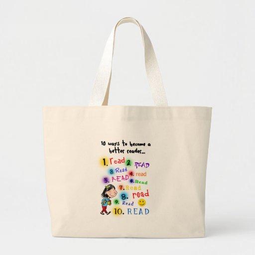 Better Reader Large Tote Bag