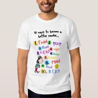 Better Reader Shirt