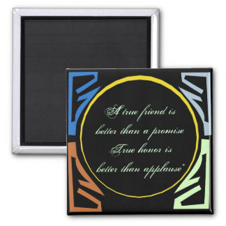 Better Than A Promise Quote Magnet